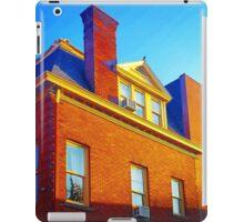 The Sky Paints a Building iPad Case/Skin