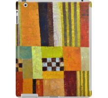 Color and Pattern Abstract iPad Case/Skin