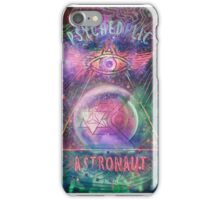 Psychedelic Astronaut logo print iPhone Case/Skin