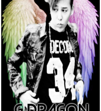 Jiyong w/ Angel Wings  Sticker