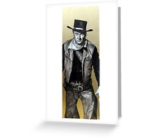 the golden age of film. Greeting Card