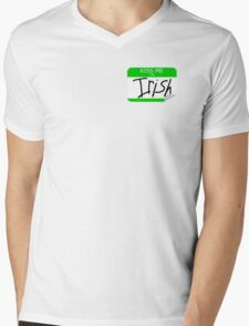 Kiss me, I'm Irish Mens V-Neck T-Shirt
