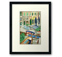 Italian Port Framed Print