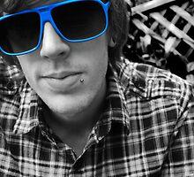 Blue Self Portrait by petegrev