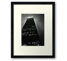 John Hancock Building Chicago Illinois Framed Print