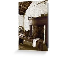 Spinning Wheel... Greeting Card