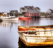Peggy's Cove Dawn by Bruce Taylor