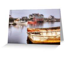 Peggy's Cove Dawn Greeting Card