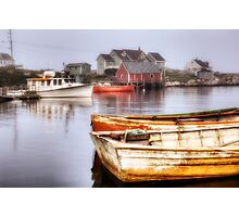 Peggy's Cove Dawn Photographic Print