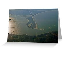 TROIA  Peninsula   Setubal       Portugal Greeting Card