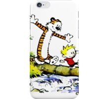 Calvin and hobbes Funny Forever iPhone Case/Skin