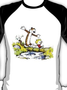Calvin and hobbes Funny Forever T-Shirt