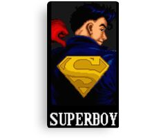 Superboy Canvas Print