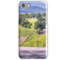 Hilly Country Road iPhone Case/Skin