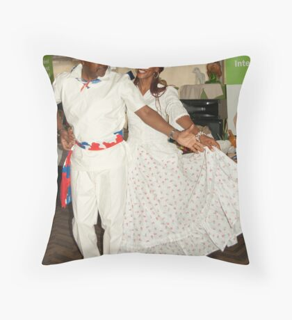 Curacao Waltz demonstration Throw Pillow