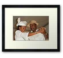 Curacao Dancing Partners Framed Print