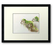 Of Vines & Fur Framed Print