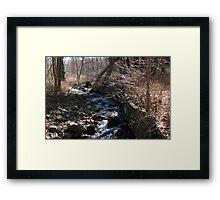 Bear Mountain Stream Framed Print