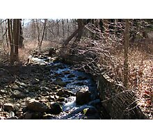 Bear Mountain Stream Photographic Print