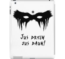 Blood Must Have Blood! (Trigedasleng ) iPad Case/Skin