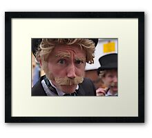 Just look into my eyes.  Framed Print