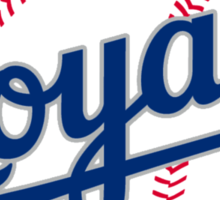 kansas city royals Sticker