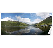 Snowdonia Reflections Poster