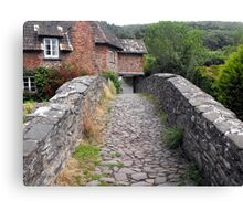 My England. Packhorse Bridge at Allerford, Somerset Canvas Print