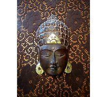 Budda su merletto  Photographic Print