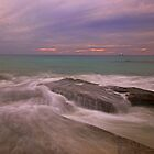 cable beach rocks storm by Elliot62