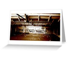 """Graffiti"" Greeting Card"