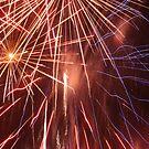 Fireworks over Barnstaple by JohnBuchanan