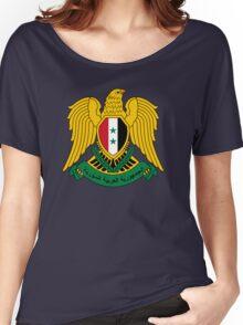 Syrian Arab Republic  Women's Relaxed Fit T-Shirt