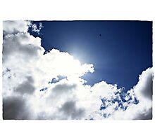 High as a Kite, freedom through flight Photographic Print