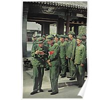 Chinese Soldiers  Poster