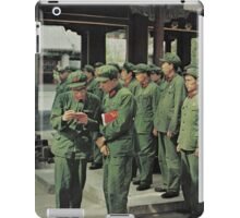 Chinese Soldiers  iPad Case/Skin