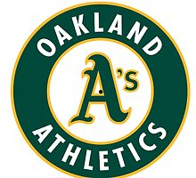 oakland athletics by paca8