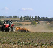 Farm Worker by delaol