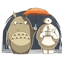 Baymax and Groot My Neighbor  by BotokPetet