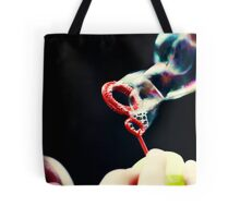 not so red bubble Tote Bag
