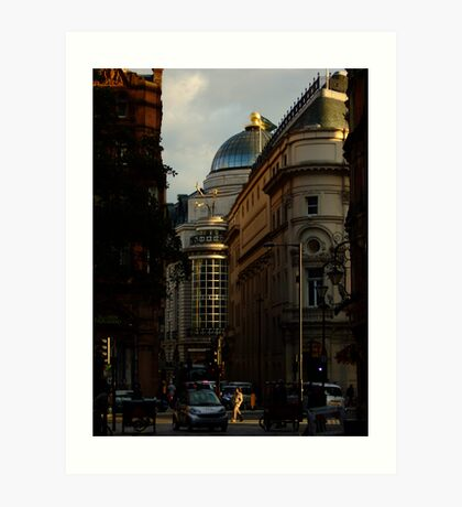 Shortcut in Piccadilly Circus Art Print