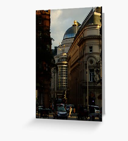 Shortcut in Piccadilly Circus Greeting Card