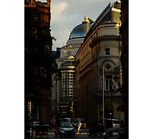 Shortcut in Piccadilly Circus Photographic Print