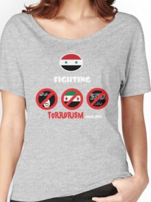Syria-fighting terrorism since 2011 Women's Relaxed Fit T-Shirt