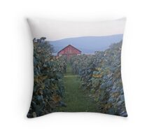 At the Grapevines Throw Pillow