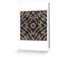 Rosas Moradas 2 Kaleidoscope 13 Greeting Card