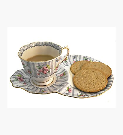 Tea and Biscuits Photographic Print