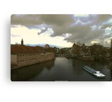 View from Strasbourg Canvas Print