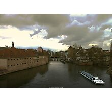 View from Strasbourg Photographic Print