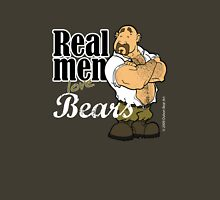 Real Men Love Bears - Military Unisex T-Shirt